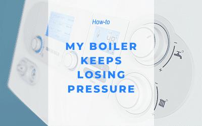 My boiler keeps losing pressure