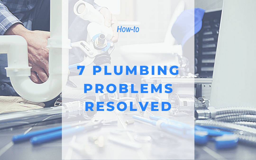 plumbing problems resolved