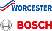 Approved Worcester Bosch installer logo