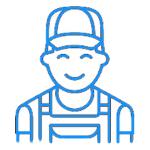 reliable plumber icon