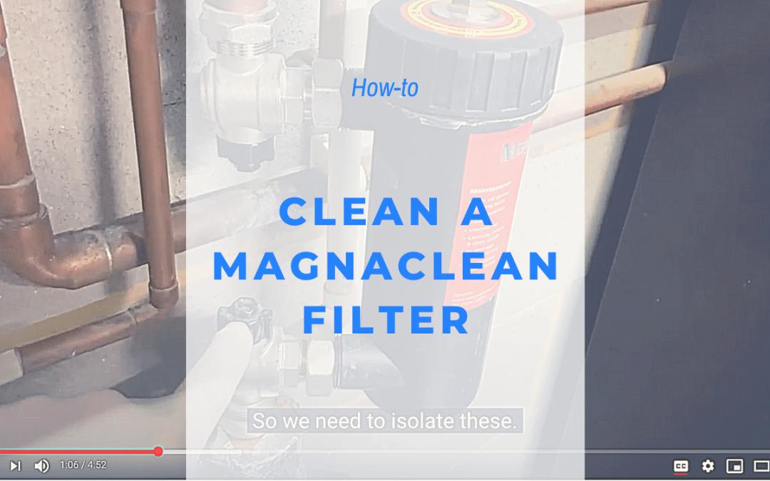 clean magnaclean filter