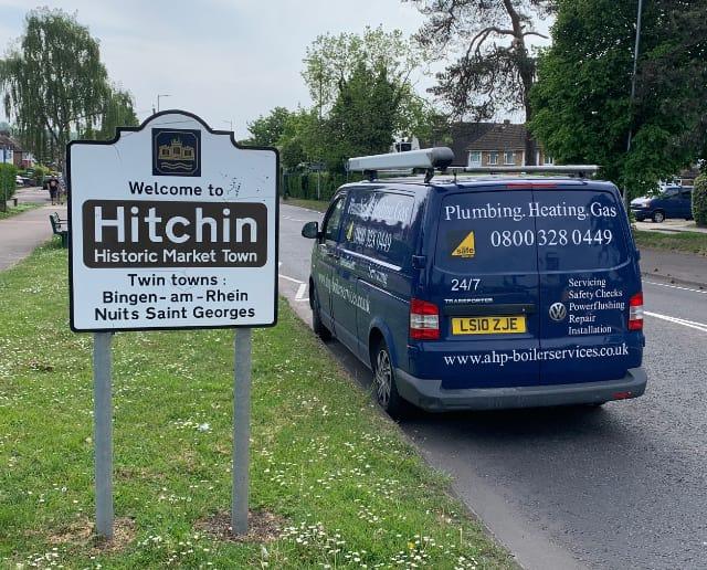 plumbers in Hitchin