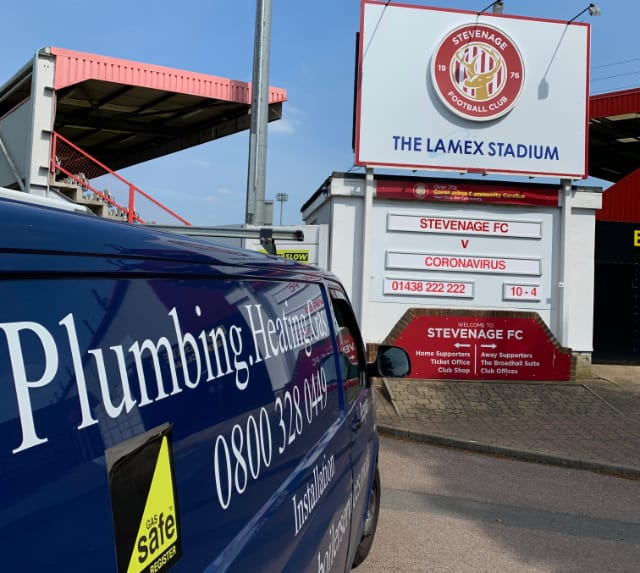 Plumber in Stevenage