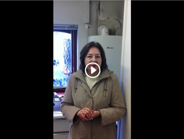 London plumbing services testimonial for new boiler and servicing